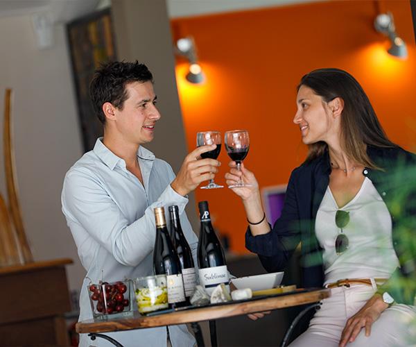 Dégustation vin hôtel Vienne 38