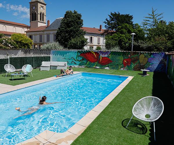 Hotel piscine Vienne 38